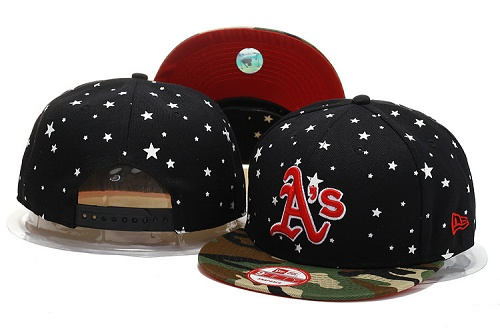 MLB Oakland Athletics Stitched Snapback Hats 003