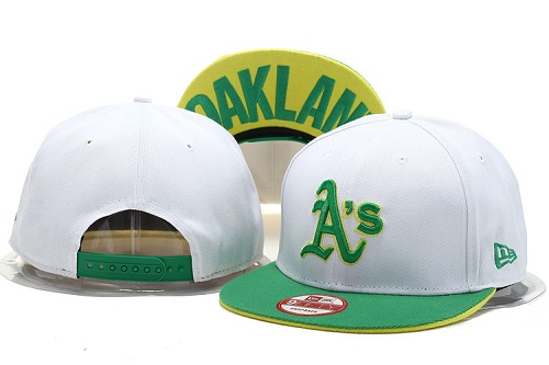 MLB Oakland Athletics Stitched Snapback Hats 004