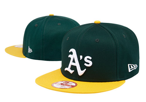 MLB Oakland Athletics Stitched Snapback Hats 005