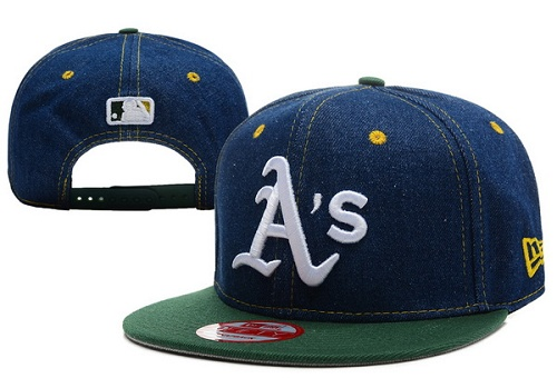 MLB Oakland Athletics Stitched Snapback Hats 007