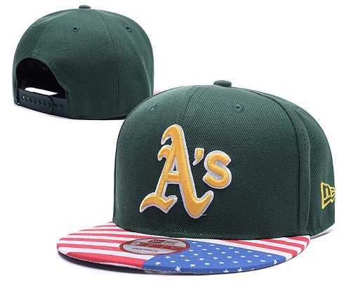 MLB Oakland Athletics Stitched Snapback Hats 009